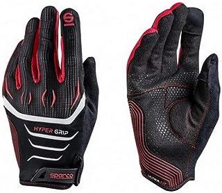 Sparco 002094NRRS08 Hyper Handschuhe Größe 8 Schwarz/ RE