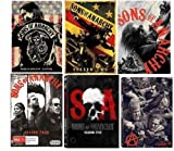 Sons of Anarchy: Complete Season 1- 6 Bundle Collection (25-Disc, DVD, 2014)