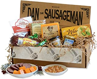 Dan the Sausageman's Denali Gourmet Gift Basket -Featuring Summer Sausage, Wisconsin Cheese and Dan's Quality Chocolate Co...
