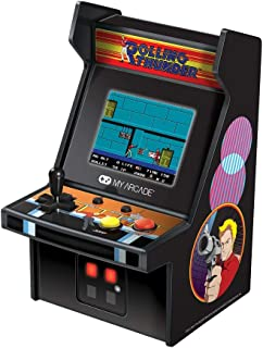 My Arcade Micro Player Mini Arcade Machine: Rolling Thunder Video Game, Fully Playable, 6.75 Inch Collectible, Color Displ...