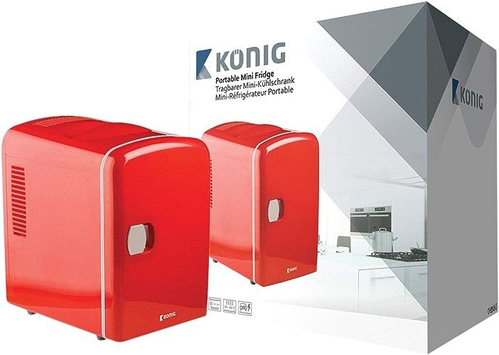 Mini-réfrigérateur portable sur secteur et sur allume-cigare