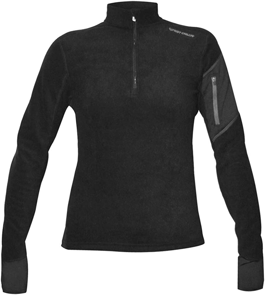 Hot Chillys Womens Lamont Zip-T Base Layer Top