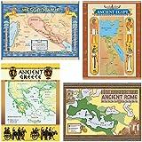 Teacher Created Resources Ancient Civilizations Bulletin Board Display Set (4422), Multi Color