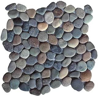Natural Earth Pebble Tile 12x12