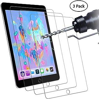 Didisky Cristal Templado Protector de Pantalla para iPad 2018/2017/iPad Air 2/iPad Air/iPad Pro 9.7/iPad 6ª/5ª Generación, [ 3-Unidades ] Toque Suave, Fácil de Limpiar, Fácil de Instalar