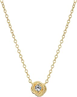 Kate Spade New York Infinity & Beyond Knot Mini Pendant Necklace