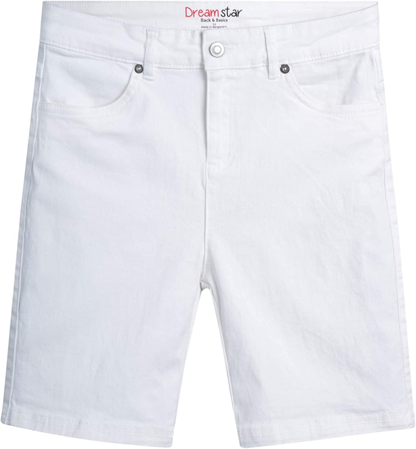 Dreamstar Girls' Shorts – Sales for sale Comfort Be Overseas parallel import regular item Twill Fit Stretch