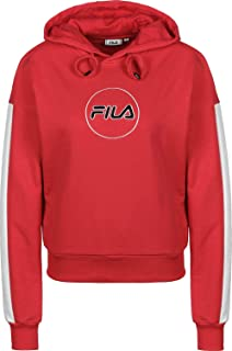 FILA Women's Riva Long Sleeve Hoodie Sweatshirt, (True), Small