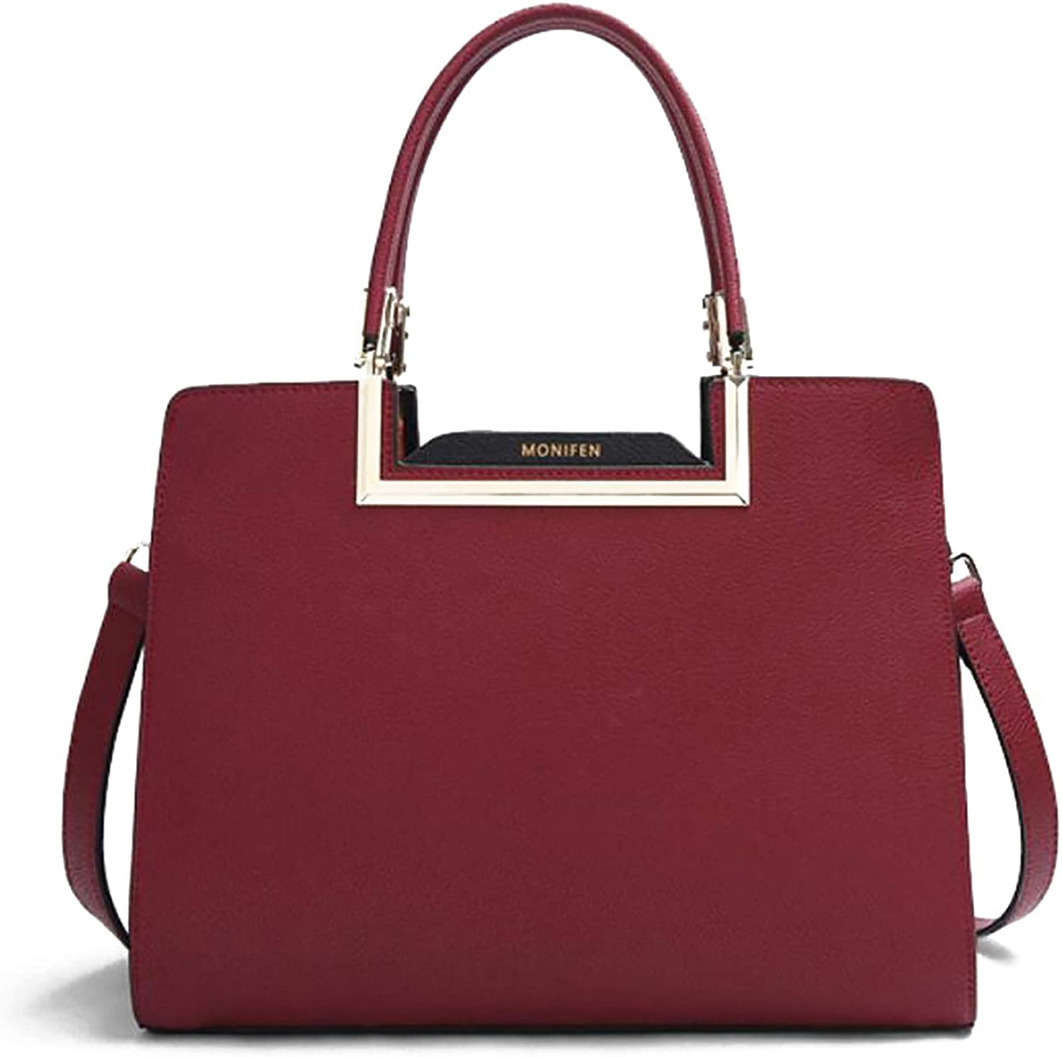 Women's leather handbags San Francisco Mall shoulder handles bags Safety and trust top