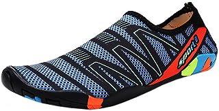 [COMVIP] ウォーターシューズ 男女兼用 アクアシューズ マリンシューズ 水陸両用 通気性 軽量 柔らかい 靴 ビーチ アウトドア