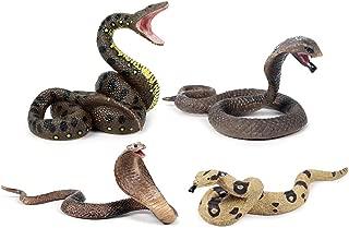 Props Prank gef/älschte Schlangen Elektro Cobra Simulation realistisch gef/älschtes Gummi-Spielzeug WanZhuanK Gef/älschte Snakes elektronisches Spielzeug USB Wireless Remote K/ünstlich Prank