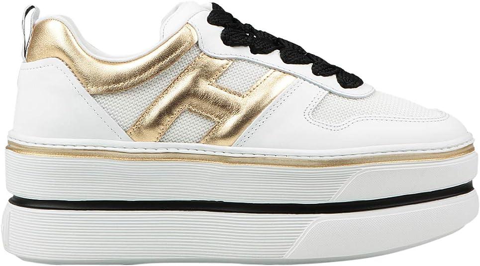 Hogan Sneakers H449 Donna MOD. HXW4490BZ10 37½ : Amazon.it: Moda