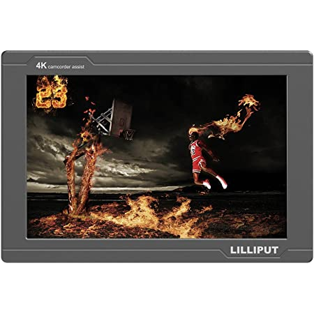 LILLIPUT FS7 7インチ 4K IPSモニター フルHDモニター 解像度1920*1200 アスペクト比16:10 コントラスト1000:1 HDMIサポート 3G-SDI入力&出力 カメラ用モニター (FS7)