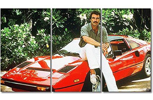 WandbilderXXL Immagine su Tela Ferrari Magnum 180x 100cm–in 6Diverse Misure. Stampata su Tela e preparata su Telaio. Quadri su Tela a Prezzi Top.