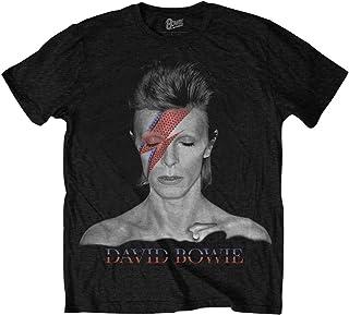 DAVID BOWIE デヴィッド・ボウイ (Space Oddity発売50周年記念) - Aladdin Sane/Tシャツ/メンズ 【公式/オフィシャル】