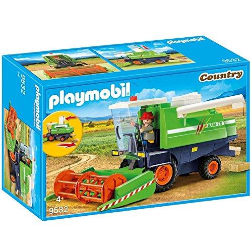 Playmobil 9532 - Cosechadora con Conductor de la cosechadora