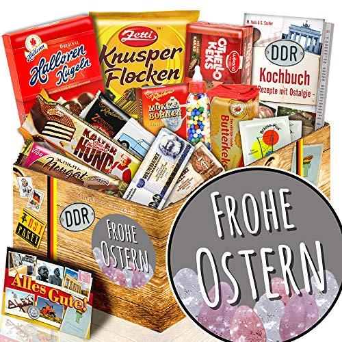 Frohe Ostern + Süsse DDR Geschenkbox L + Geschenke Idee zu Ostern