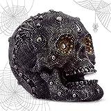 mtb more energy Calavera ''Mystic Pearls'' - Cráneo con Cuentas - Altura 12 cm - Figura D...