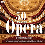 50 Arias Opera, Maria Callas, Pavarotti, Traviata, Il Barbiere Di Siviglia, Tosca, Carmen,