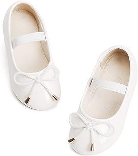 a3459d0ed Bear Mall Little Girl Flats Slip-on Ballet Flats Black Uniform Mary Jane Shoes  for