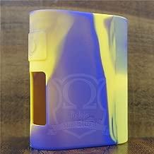 ModShield for iStick Pico Mega Eleaf 80W TC Silicone Case ByJojo Protective Cover Shield Skin Wrap (Yellow/Purple)