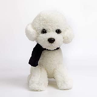 krisphily Stuffed Animals Plush Dog Toys Puppy,12 inches (White)