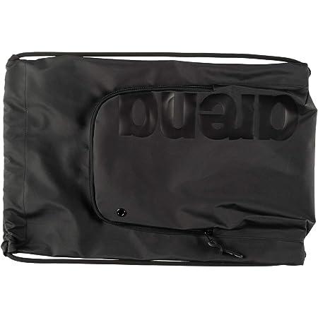 ARENA Unisex – Erwachsene Schwimmbeutel Turnbeutel Team All Black, one Size