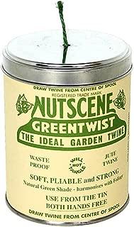 Bosmere K815G Nutscene Tin of Twine, 3-Ply, 492-Feet, Green