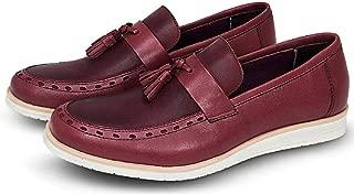 Sapato Oxford Masculino Casual Couro Sem Cadarço Macio