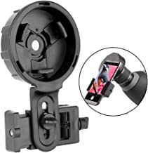 DoubleSun Universal Phone Mount-Binocular Monocular Telescope and Spotting Scope-for iPhone Sony Samsung Huawei Etc (Phone Adapter Plus)