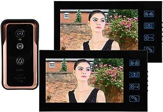 Sistema de intercomunicador con Timbre de Video con Cable, Kit de Timbre de Video con Control de Puerta de Acceso, interco...