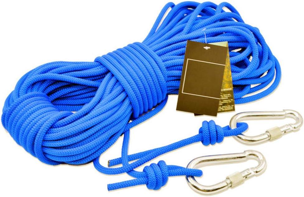 Cuerda de escalada al aire libre con doble hebilla de ...