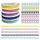 Happy Makers 19.68 Feet Colorful Paper Clip...