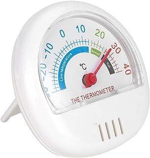Thermomètre de réfrigérateur à grand cadran, thermomètre de congélateur à résistance à haute température, rouge, jaune, bl...