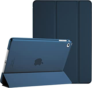 ProCase iPad Air 2 Smart Case, Ultra Slim Lightweight Stand Protective Case Shell with Translucent Frosted Back Cover for Apple iPad Air 2 (A1566 A1567) –Navy