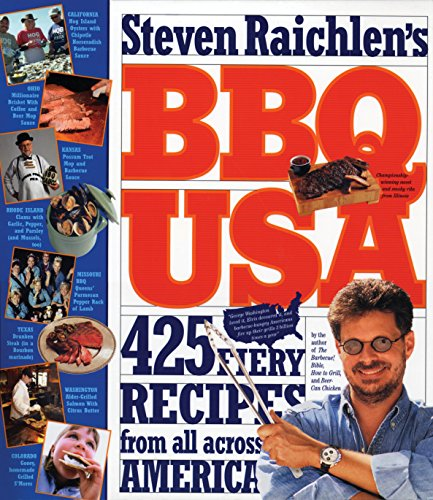 BBQ USA: 425 Fiery Recipes from All Across America (Barbecue! Bible Cookbooks) (English Edition)