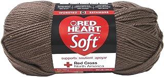 Coats Yarn Red Heart Soft Yarn Cocoa, Paper, Multicoloured, 0.1 x 0.1 x 0.1 cm