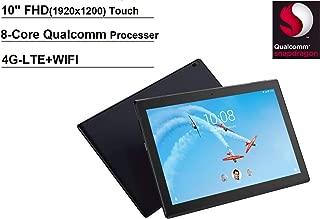Lenovo Tab 4 10 Plus 10.1 inch FHD+ (1920x1200) Android Tablet (8-Core Processor, 4G-LTE Unlocked, 2GB RAM, 32GB eMMC) Kids Mode, Full HD Touchscreen, WiFi, Bluetooth, Dolby Atmos Audio, Black