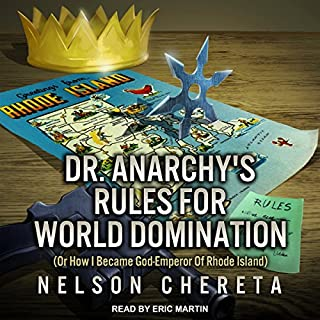 Dr. Anarchy's Rules for World Domination cover art