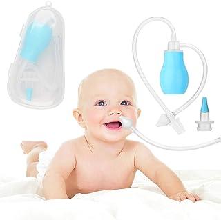 Aspirador Nasal Bebes - WENTS Nariz Cleaner aspiración manual para Recién Nacidos e Infantes Alivia La Mucosidad del bebé