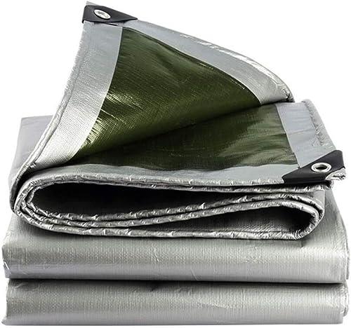 Gxing Bache, revêteHommest extérieur en polyéthylène argenté et Isolation de voitureavane de Parasol oxydé imperméable Coupe-Vent Pluie abri de Camping Parasol enneigé en Plein air (Taille   3X6m)