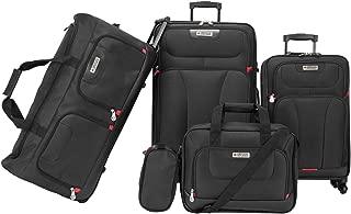 American Explorer Softside Spinner Luggage - 5 Piece set