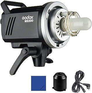Godox MS300 Lámpara LED de vídeo (300 W, con Bowens Mont 150 W, lámpara de Modelado, 2,4 G integrada en el Sistema inalámb...