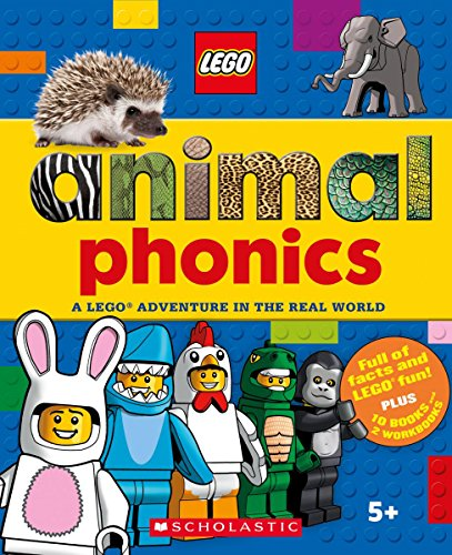 Compare Textbook Prices for Animals Phonics Box Set LEGO Nonfiction: A LEGO Adventure in the Real World Workbook Edition ISBN 9781338261912 by Arlon, Penelope