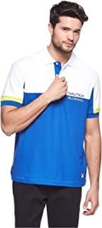 Nautica Short Sleeve Polo T-Shirt for Men - Multi Color