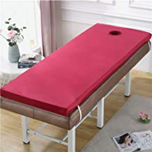 Mattress for Beauty Salon,Massage Beauty Bed Mattress Thicken with Holes Non-Slip Beauty Mattress,Warm and Breathable Doub...