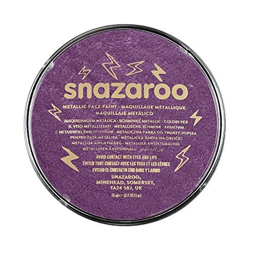 Snazaroo- Face and Body Paint, 1118881, Violet Électrique, Taille Unique