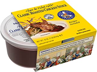 More Than Gourmet Glace De Poulet Gold, Roasted Chicken Stock, 16-Ounce