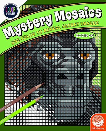 MindWare Color by Number Mystery Mosaics: Book 16