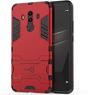 Huawei Mate 10 Pro Case Cover, CoverON, Dual Layer Protective, Stand, Red